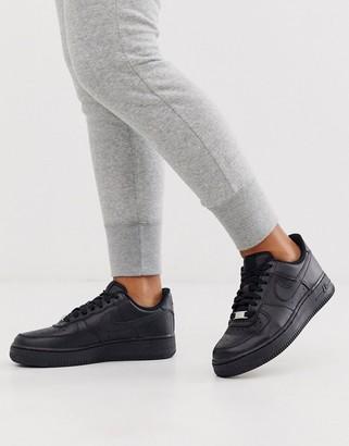 Nike Triple Black Air Force 1 '07 Sneakers