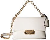 MICHAEL Michael Kors XS Chain Crossbody (Optic White) Handbags