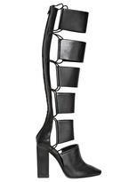 Alexander Wang 110mm Marta Calfskin Elastic High Boots