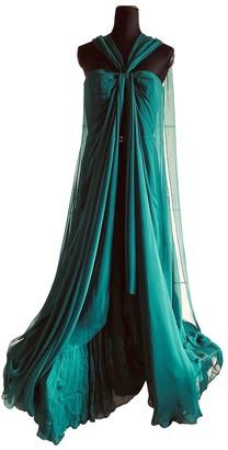 Gucci Green Silk Dresses