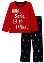 Joe Fresh Holiday Pajama Set (Little Boys)