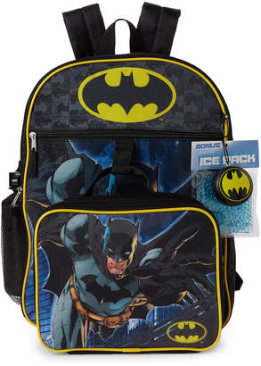 DC 5-Piece Batman Backpack Set