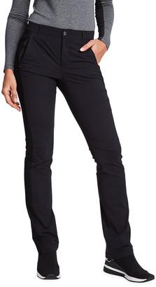 Anatomie Paloma Straight-Leg Pants with Mesh Inserts