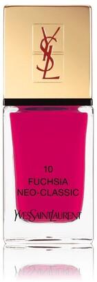 Saint Laurent La Laque Couture 10 Fuchsia Neo- Classic