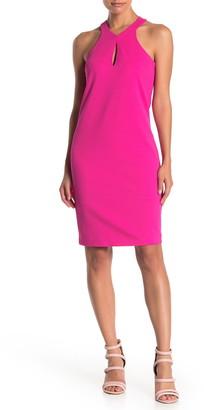 trina Trina Turk Honor Keyhole Cutout Sheath Dress