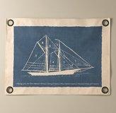 Vintage Sailboat Art