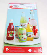 Martha Stewart Holiday Greetings Christmas Beverage Labels 18 Pack
