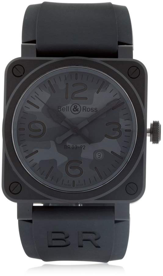 Bell & Ross Camouflage Ceramic Automatic Watch