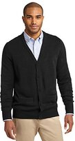 Port Authority Men's V-Neck Cardigan with Pockets__