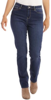Regatta Essential Straight Full-Length Jean In Dark Blue