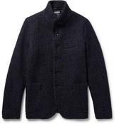Blue Blue Japan Slim-Fit Mélange Wool Jacket
