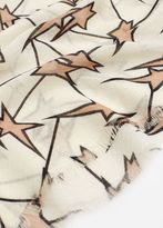 MANGO Star Print Scarf