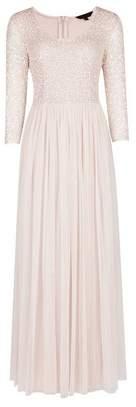 Dorothy Perkins Womens **Showcase Blush 'Bijou' Maxi Dress
