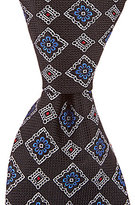 Daniel Cremieux Mixed Medallion Traditional Silk Tie