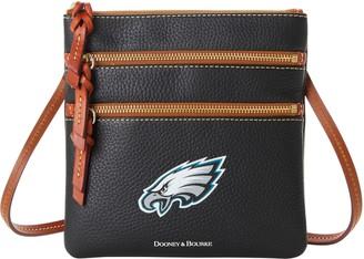 Dooney & Bourke NFL Eagles Triple Zip Crossbody