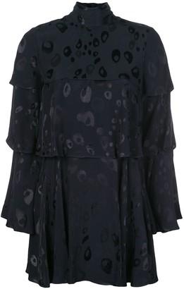 Alexis Latanya high-neck dress