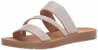 Madden-Girl Women's Press Flat Sandal