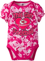 Gerber Pink Kansas City Chiefs Camo Bodysuit - Infant