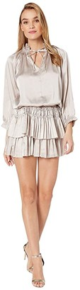 Bishop + Young Dom Mini Dress (Silver) Women's Dress