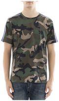 Valentino Military Print Cotton T-shirt