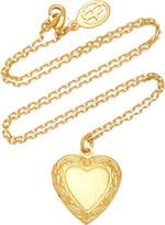 Thumbnail for your product : Ben-Amun Women's Medium Heart Locket Gold-Plated Necklace - Gold - Moda Operandi