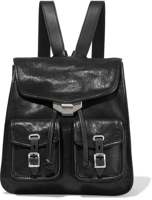 Rag & Bone Small Field Textured-leather Backpack