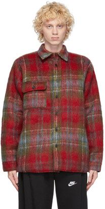 Bless Reversible Red and Green Mohair Woodhacker Jacket