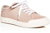 Rag & Bone Women's Standard Issue Perforated Leather Lace Up Sneakers