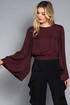 Do & Be Wide Sleeve Crop Top