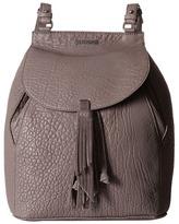 Just Cavalli Solid Pebbled Calf Skin Backpack