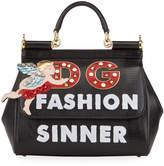 Dolce & Gabbana Sicily Fashion Sinner Top-Handle Bag