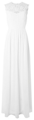 Dorothy Perkins Womens Showcase White Bridal Maxi Dress, White