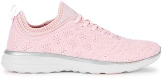 Athletic Propulsion Labs Techloom Phantom Pink Textured-knit Sneakers