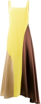 Chinti and Parker Colour-Block Dress