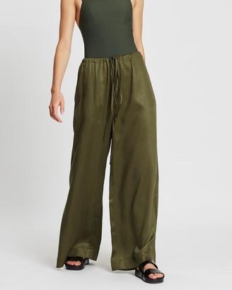 BONDI BORN Fluid Drawstring Pants