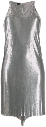 Paco Rabanne metallized mesh dress