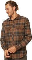 Billabong Grayson Ls Mens Shirt Brown