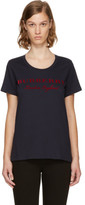 Burberry Navy Logo Mera T-shirt