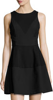 Elliatt Desert Rose Fit & Flare Dress, Black