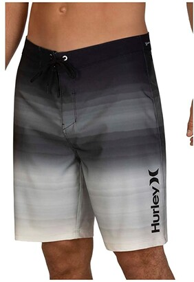 Hurley 20 Phantom Spray Blend Boardshorts (Black) Men's Swimwear