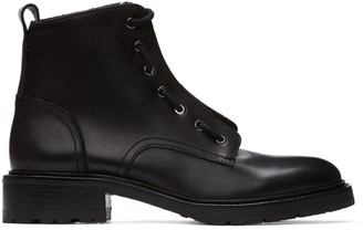Rag & Bone Black Cannon Combat Boots
