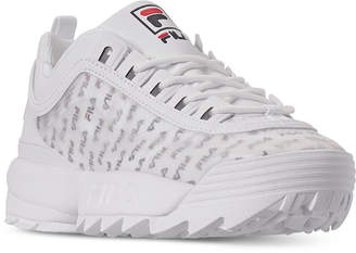 Fila Women Disruptor Ii Clear Logo Casual Athletic Sneakers from Finish Line