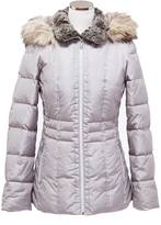 Nautica Faux Fur Short Puffer Jacket
