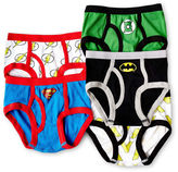 Justice Licensed Properties League 5-pk. Briefs - Boys 4-8