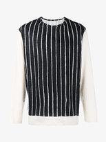 Yohji Yamamoto striped long sleeve t-shirt