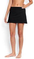 Lands' End Women's Petite SwimMini Skirt-Light Fuchsia