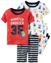Carter's Baby Boy Graphic & Print Tees, Shorts & Pants Pajama Set