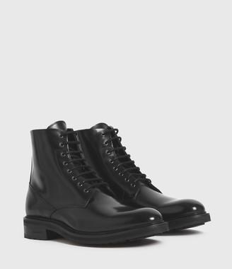 AllSaints Britt Leather Boots