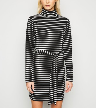 New Look Brave Soul Stripe Jersey Dress