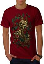 Skull Head Dead Tree Gothic Oak Men XXXL T-shirt   Wellcoda
